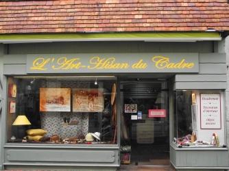 L'Art-Hisan du Cadre, Boutique