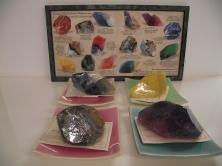 Savons façons pierres semis précieuses