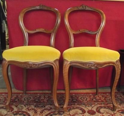 Paire de chaises