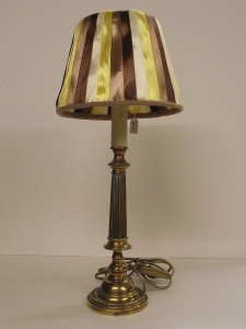 Lampe bougeoir