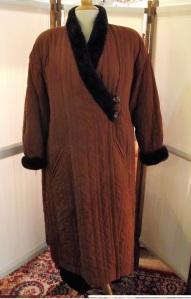 Manteau années 80